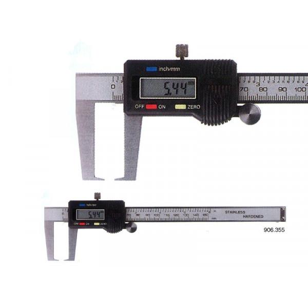 Schut 906.355 Штангенциркуль цифровой для измерения внешних канавок Schut 0.01 мм, 0 - 150 мм