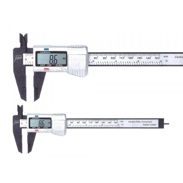 Schut 909.420 Штангенциркуль цифровой из углепластика Schut 0.01 мм, 0 - 150 мм