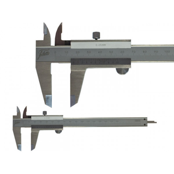 Schut 909.521 Штангенциркуль нониусный с крепежным винтом сверху Schut 0.05 мм, 0 - 150 мм