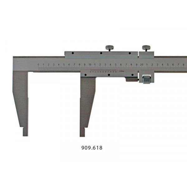 Schut 909.616 Штангенциркуль нониусный цеховой односторонний Schut 0.02 мм, 0 - 500 мм