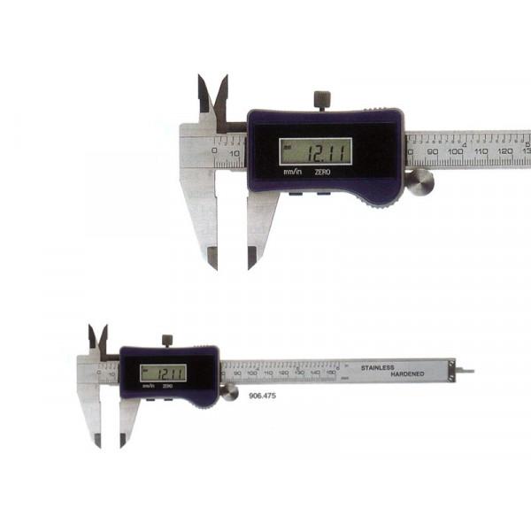 Schut 910.035 Штангенциркуль цифровой с твердосплавными измерительными поверхностями 0-150/0.01 мм 910.035