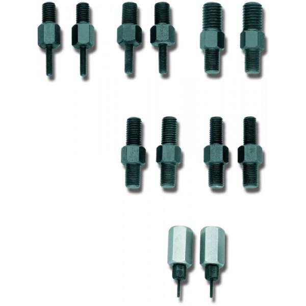Вставки резьбовые две односторонних и две двусторонних вставки, M14x1,5 Gedore 1120751