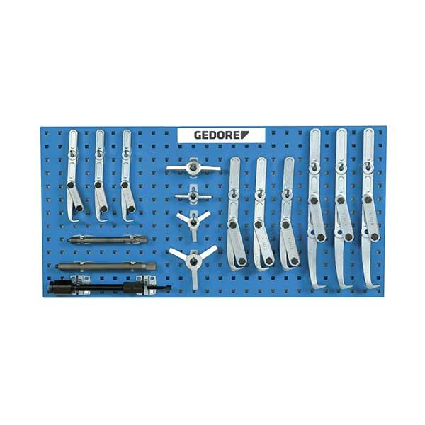 Набор съемников для ремонта строительных машин, модульная система Gedore 1393030