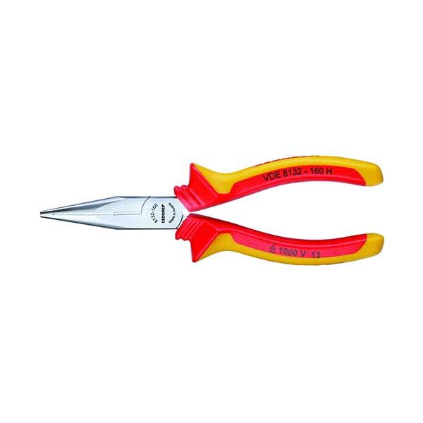 VDE-длинногубцы с изоляцией в виде чехла 160 мм Gedore 1552112