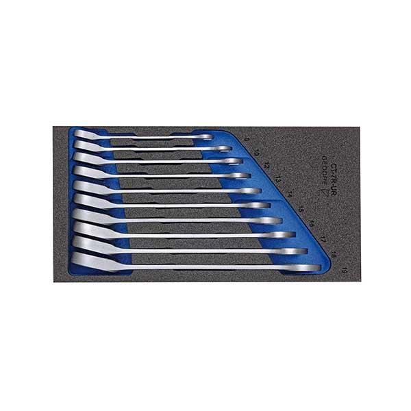 Набор ключей гаечных комбинированных с трещоткой в CT ложементе 1/3 Gedore 2331969