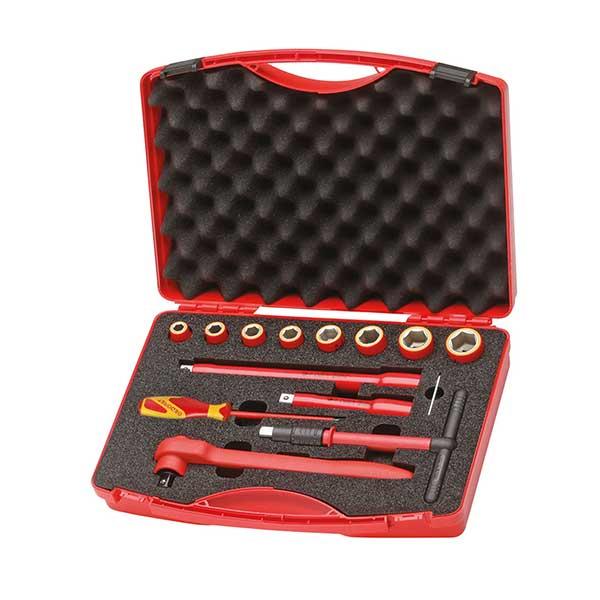 VDE-набор инструментов 14 предметов в чемодане Gedore 6602560