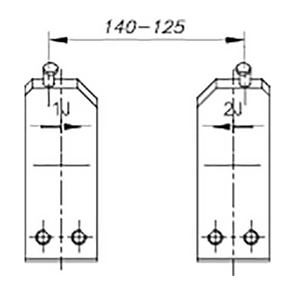 Губки запасные 1 J Gedore 5703380