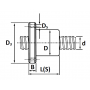 Винт ШВП SFU-R3210 L=300 см TECHNIX
