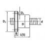 Винт ШВП SFU-R5010 L=300 см TECHNIX