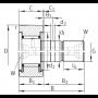 Опорный ролик KRV30-PP TECHNIX