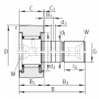 Опорный ролик KRV32-PP TECHNIX