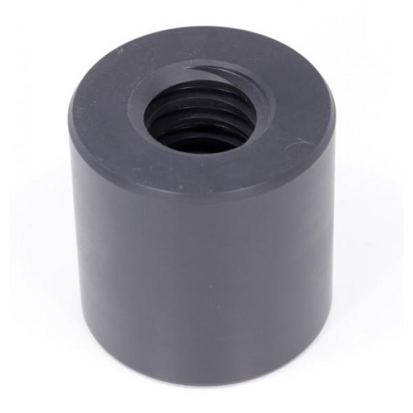 Гайка трапецеидальная (нейлон) d=30 мм, шаг резьбы 6 мм (прав. резьба), LKM 30-6-D TECHNIX