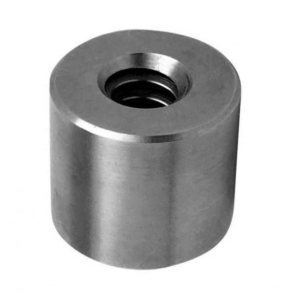 Гайка трапецеидальная (сталь) d=10 мм, шаг резьбы 2 мм (прав. резьба), KSM 10-2-D TECHNIX