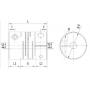 Муфта соединительная FC16-P2 TECHNIX