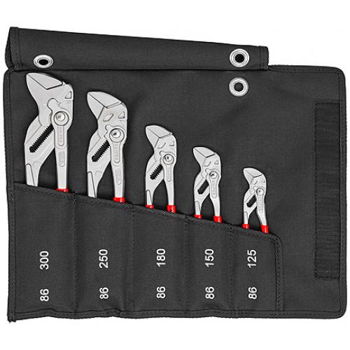 Набор переставных клещей-гаечных ключей 5 предметов 00 19 55 S4