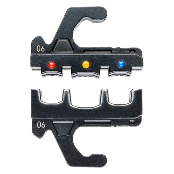 Плашка опрессовочная для кабельных наконечников, штекерных соединителей 97 39 06