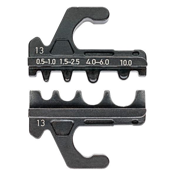 Плашка опрессовочная для прессуемых и трубчатых кабельных наконечников KN-973913