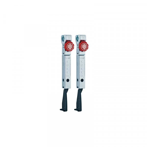 2 узких удлинённых захвата с быстрой регулировкой (комплект) KUKKO 1-193-P