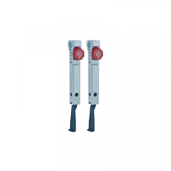 2 особо узких удлинённых захвата с быстрой регулировкой (комплект) KUKKO 1-195-P