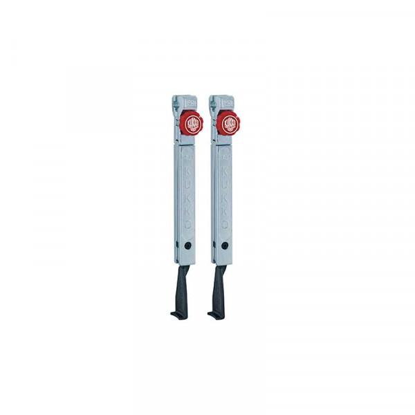 2 узких удлинённых захвата с быстрой регулировкой (комплект) KUKKO 1-253-P