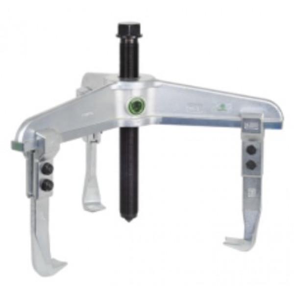 Трёхзахватный съёмник, сверхпрочная конструкция KUKKO 11-1-A4