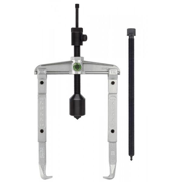 Универсальный двухзахватный съёмник с длинным гидравлич. шпинделем и удлинёнными захватами (вкл. механический шпиндель) KUKKO 20-3-4-B