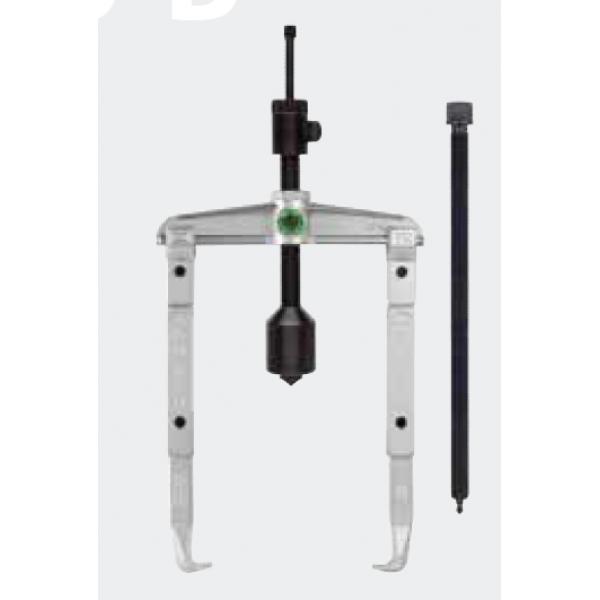Универсальный двухзахватный съёмник с длинным гидравлич. шпинделем и удлинёнными захватами (вкл. механический шпиндель) KUKKO 20-40-5-B