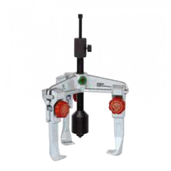 Универсальный двухзахватный съёмник с длинным гидравлическим шпинделем (вкл. механический шпиндель) KUKKO 20-40-B