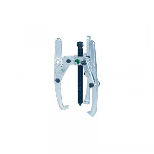 Универсальный трёхзахватный съёмник с шарнирными захватами, регулир. глубины фиксации KUKKO 206-1