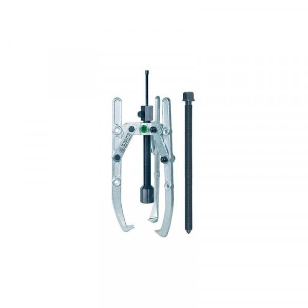Универсальный трёхзахватный съёмник с шарнирными захватами, регулир. глубины фиксации и длинным гидравлич. шпинделем (вкл. механический шпиндель) KUKKO 206-1-B