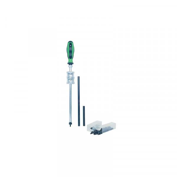 Инструменты для снятия сальников, в наборе с винтами и удлинителями KUKKO 222-S