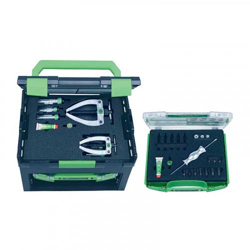 Набор с обратным молотком и контропорой, для демонтажа подшипников и установочных штифтов KUKKO 28-C