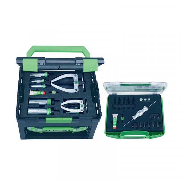 Набор с обратным молотком и контропорой, для демонтажа подшипников и установочных штифтов KUKKO 28-D