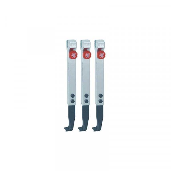 3 узких удлинённых захвата с быстрой регулировкой (комплект) KUKKO 3-403-S