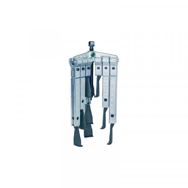 Универсальный трёхзахватный съёмник с узкими захватами, в наборе KUKKO 30-3-SP