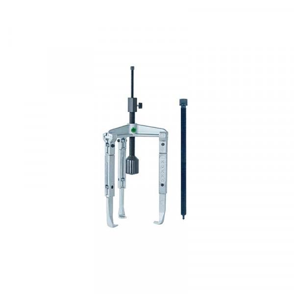 Универсальный трёхзахватный съёмник с удлинёнными захватами и длинным гидравлич. шпинделем (вкл. механический шпиндель) KUKKO 30-3-3-B