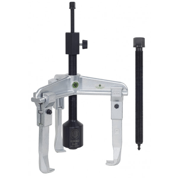 Универсальный трёхзахватный съёмник с длинным гидравлич. шпинделем (вкл. механический шпиндель) KUKKO 30-3-B