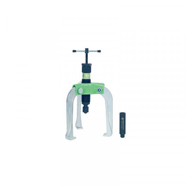 Универсальный трёхзахватный съёмник с самоцентр. захватами и коротким гидравлич. шпинделем KUKKO 845-2-B