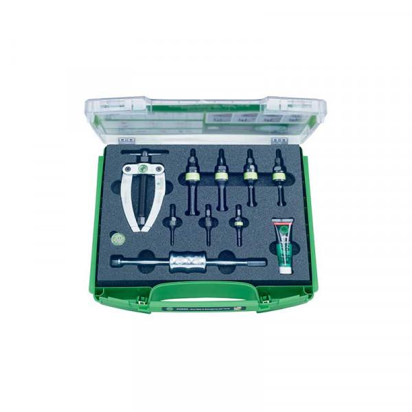 Набор для демонтажа шарикоподшипников с контропорой и обратным молотком KUKKO K-22-C-E