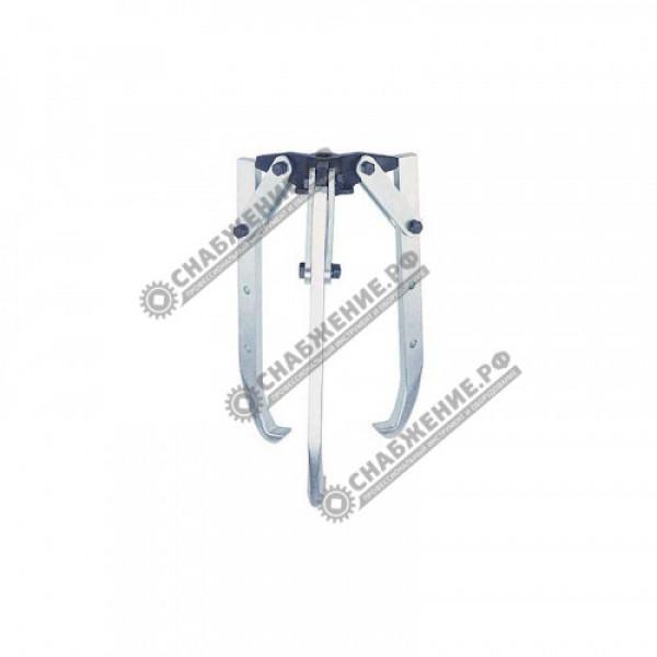 Трёхзахватный съёмник с шарнирными захватами (без гидроцилиндра для привода от насоса) KUKKO Y20-206