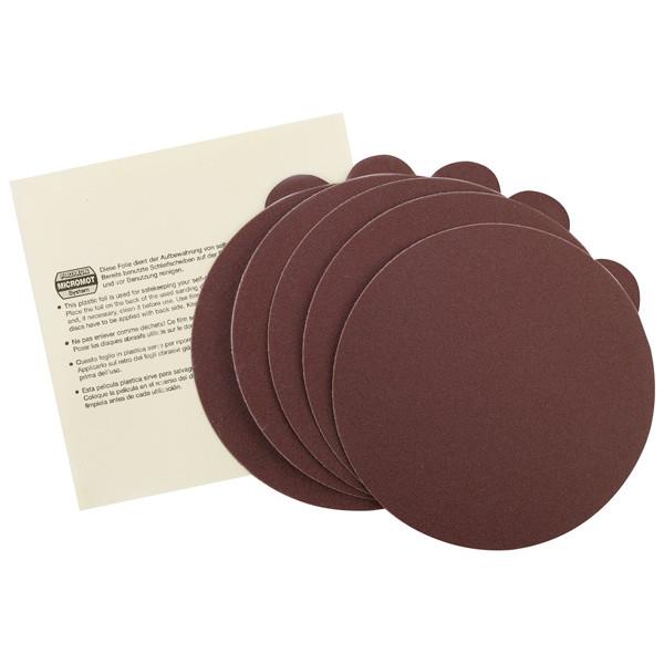 Proxxon 28162 Самоклеящиеся шлифовальные круги для TG 125/E, зерн 150, 5 шт