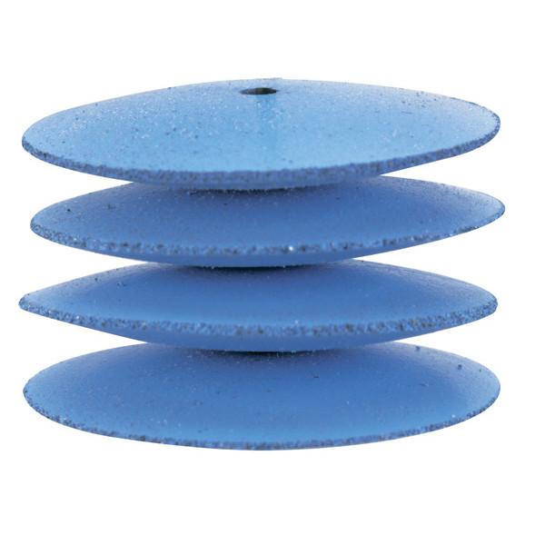 Силиконовые диски для полирования, линза (ø 22 мм, 10 шт.) с дискодержателем