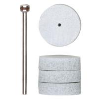 Специальные полировальные шайбы для оргстекла (диам 22 мм., 4 шт.)