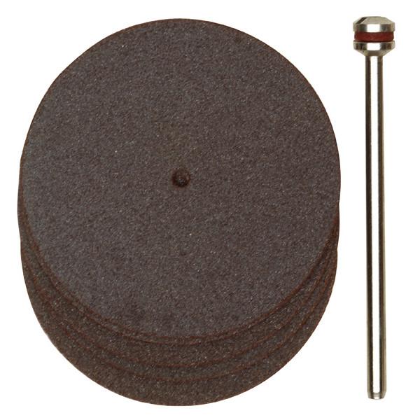 Отрезные корундовые диски, 5 шт., 38 мм с дискодержателемr