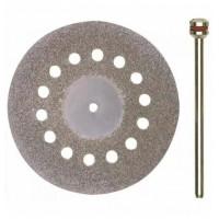 Алмазный отрезной диск с вентиляционными отверстиями Ø 38 мм
