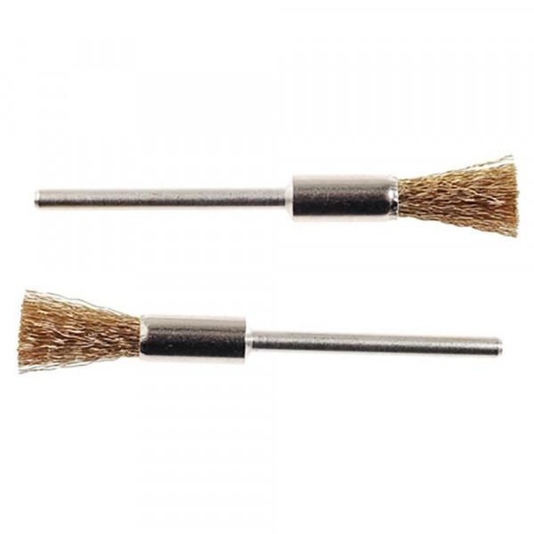 Латунные щетки-кисточки, 2  шт. (8 мм )