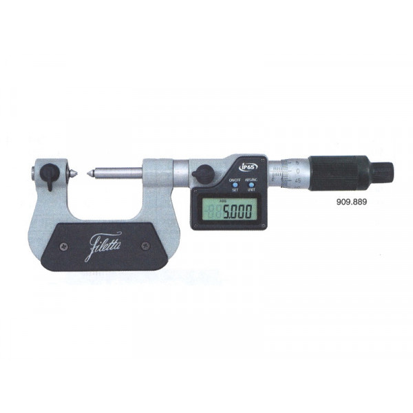 Schut 909.889 Цифровой микрометр для резьбы 0-25 мм