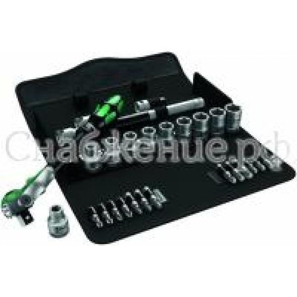 Набор инструмента с трещеткой(28предм) Wera WE-004076