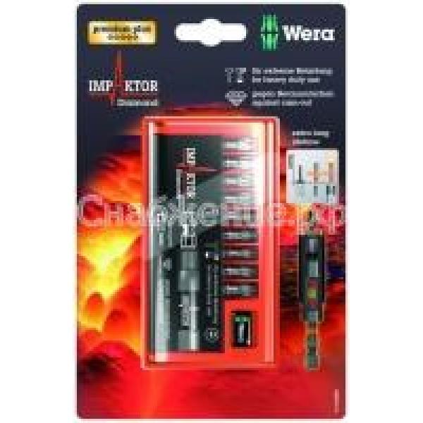 Биты импактор  в наборе с битодержателем Wera WE-073980