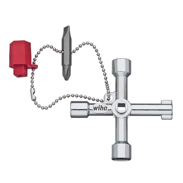 Универсальный ключ распределительного шкафа Elektro в форме креста